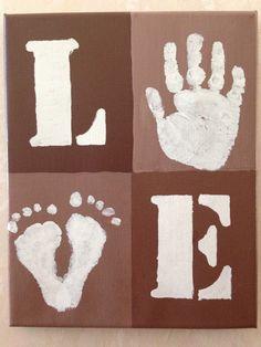 Handprint footprint craft