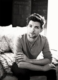 Adam Scott...love him, because, LOOK AT THAT FACE. IT'S TOO MUCH.