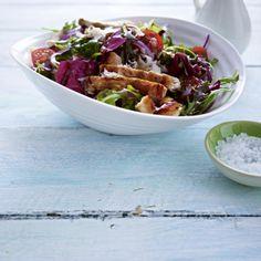 Salat mit putenstreifen thermomix