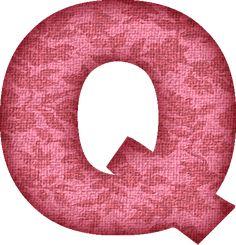 Presentation Alphabets: Pink Flower Fabric Letter V | Me ...