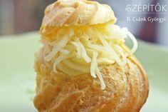 A képviselőfánk tésztája, az ún. égetett tészta egyszerűen elkészíthető, sokféleképpen ízesíthető. Tormás sajtkrémes töltelékkel is érdemes kipróbálni! Hozzávalók az égetett tésztához kb. 35 db kisebb fánkhoz 2 dl víz 20 dkg vaj 20 dkg liszt 1/2 kksó 4-5 egész tojás (tojás méretétől függően) Töltelékhez 4-5 dl tej 2 ek liszt 2 ekvaj 2 ek parmezán sajt 1 kksó 1/2 kk szerecsendió 1 ek reszelt torma 1/2 kkfehér bor 1-2 dkg vaj 20 dkg reszelt sajt (ízlés szerint, vegyesen) Elkészítés Öntsük… Baked Potato, Potatoes, Baking, Ethnic Recipes, Food, Potato, Bakken, Essen, Meals