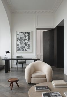 Home Decoration Ideas Entrance From the kitchen to the bedroom this interior by Joseph Dirand is a dream Decoration Ideas Entrance From the kitchen to the bedroom this interior by Joseph Dirand is a dream