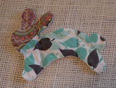 Primitive Patchwork Bunny Appliques Shabby by ITSYOURCOUNTRY, $7.99