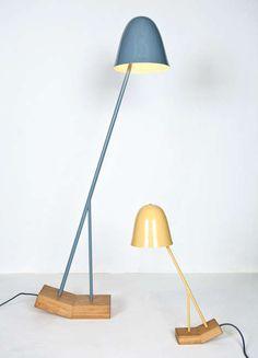 Enchanting Oscillating Illuminators : PILU Lamp