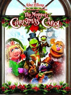 """Jim Henson's -""""The Muppet Christmas Carol"""" - my favorite Christmas movie! - Dauna Beutel"""