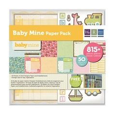 Baby Mine Paper Pack