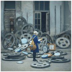 Lomography - A Trip to Modern Wonderland: Surrealistic Story-Portraits of Oleg Oprisco Photography Portfolio, Beauty Photography, Creative Photography, Fine Art Photography, Concept Photography, Inspiring Photography, Photography Ideas, Oleg Oprisco, Fotografia Fine Art