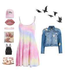 """""""Untitled #56"""" by snowflake39 ❤ liked on Polyvore featuring Steve Madden, Humble Chic, Lime Crime, Boohoo, Jayson Home and Henri Bendel"""