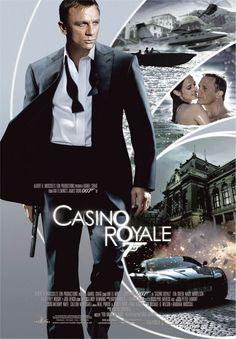 James Bond movies, especially Casino Royale