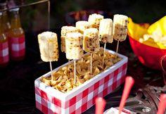 bbq decorations | BBQ-ideas-corn