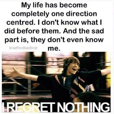 I REGRET NOTHING AT ALL!!! *runs around jumping and sing BSE* lol