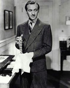 David Niven (Raffles, Gentleman Thief, 1939)