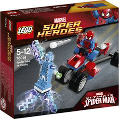 76014 Lego Super Heroes Spider-Trike tegen Electro