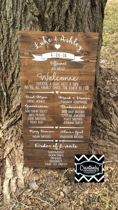 No need to waste money on wedding programs that the guests are just going to throw away!This is a great way to display your wedding details that you can set by the entrance so everyone can see!**Product Details listed below.