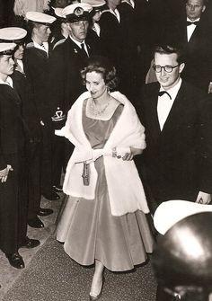 King Baudouin of Belgium ans consort, Queen Fabiola. 60s