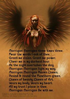 Morrigan be with me