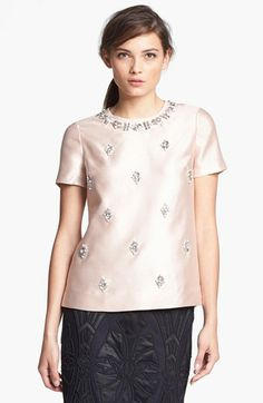 Tory Burch 'Vesper' Silk Top available at #Nordstrom