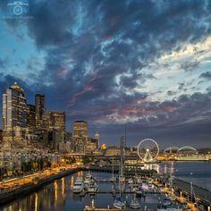 An Evening At The Pier   Seattle, WA, USA   Fuji X-T1   Fuji 18-55mm f/2.8-4   ISO 200   f/8   1, 2, 4 sec ◾️◾️◾️◾️◾️◾️◾️◾️◾️◾️◾️◾️◾️◾️ We have been experiencing some awesome sunsets in Seattle recently. This one was from last night at Pier 66. I was shooting with a great guy and photographer, Mirwais (@mirwais_azami_photography). ◾️◾️◾️◾️◾️◾️◾️◾️◾️◾️◾️◾️◾️◾️ Attend one of my workshops