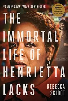 Soon to be an HBO& Film starring Oprah Winfrey and Rose Byrne.Her name was Henrietta Lacks, but scientists know her as HeLa. She was a poor Southern tobacco farmer who worked the same land as her. Oprah Winfrey, Best Book Club Books, Good Books, Books To Read, Rose Byrne, Hd Movies, Movies Online, Movie Tv, 2017 Movies