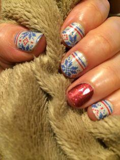 Perfect combo for this Winter weather!  #sweaterweatherjn #cherryicejn http://rachellebell.jamberrynails.net