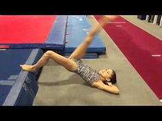 Applying Hip Strength Drills For Reduced Pain and Increased Flexibility « Gymnastics Academy, Gymnastics Room, Tumbling Gymnastics, Gymnastics Skills, Gymnastics Videos, Gymnastics Coaching, Gymnastics Workout, Back Handspring Drills, Gymnastics Conditioning