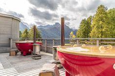 Hotel Paradies Ftan | Relais Chateaux | Hot Tub