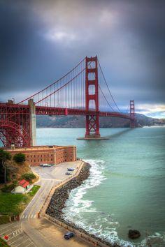 Golden Gate Bridge in San Francisco! #evolutiontravel #SanFrancisco