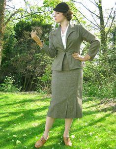 30's vintage style suit