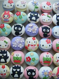 Hello Kitty Cupcakes :)