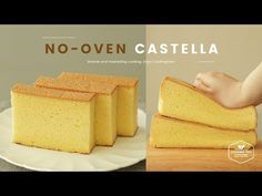 No-oven Castella without Oven Recipe Delicious Cake Recipes, Sweets Recipes, Yummy Cakes, No Oven Recipes, Bolo Vegan, Vegan Cake, Cupcakes, Cupcake Cakes, Food Cakes