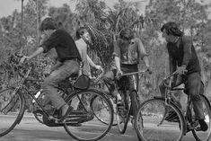 Fotos antiguas de bicicletas: the Beatles