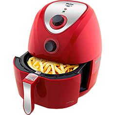 Fritadeira Philco Air Fry Saúde Inox PH Litros Vermelho Decorate your home with this beautiful air fryer. See also models of air fryer machine and air fryer which is the best. Air Fryer Mondial, Kitchen Gadgets, Kitchen Appliances, Fryer Machine, Air Fryer Review, Crispy Chicken Wings, Best Air Fryers, Modern Tools, Air Fryer Healthy