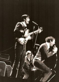 The Sonics onstage