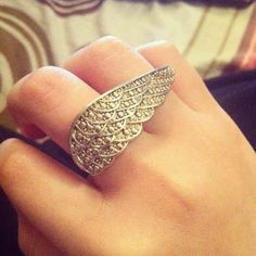 Wing ring ($3) is on sale on Mercari, check it out! http://item.mercariapp.com/gl/m350605976