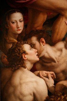 Agnolo Bronzino's Descent of Christ Into Limbo