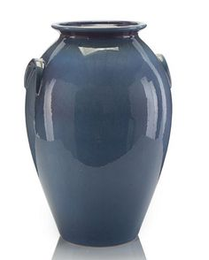 John Richard Large Indigo Blue Jar