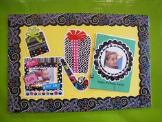 CTP's Happy Birthday Bulletin Board set from the new BW Collection.