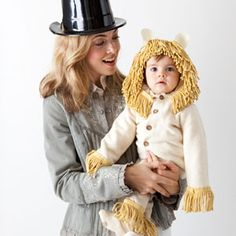 DIY Costume for me and the little guy! This site also has great last minute ideas!