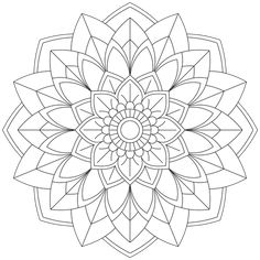 Mandala Monday 51 Free Download To Colour In Mandala Design, Geometric Mandala, Geometric Shapes, Mandala Drawing, Mandala Painting, Mandala Art, Mandala Coloring Pages, Colouring Pages, Coloring Books