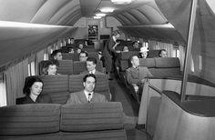 Boeing 377 cabin
