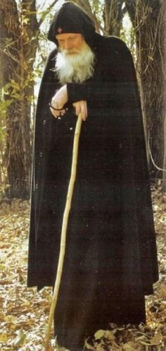 Fr Gabriel in the woods