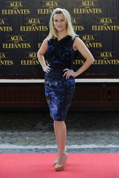 More Pics of Reese Witherspoon Platform Pumps