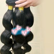 indian virgin hair body wave  4pc 18 INCHES NATURAL BLACK 100 GRAMS EACH **ALL SALES ARE FINAL**