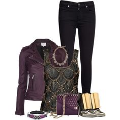 Oh man I love this outfit except the shoes! Lordy they are bad.  Untitled #1109, created by jay-to-the-kay on Polyvore