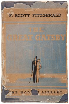 The Great Gatsby is one of my favorite books and this cover is so well executed; the thrashed and torn edges make it. Looking forward to a proper cinematic version.