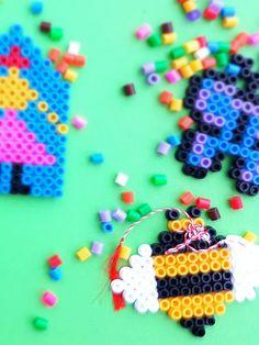 Șabloane pentru mărțișoare din mărgele Hama Sprinkles, Candy, Sweets, Candy Bars, Chocolates