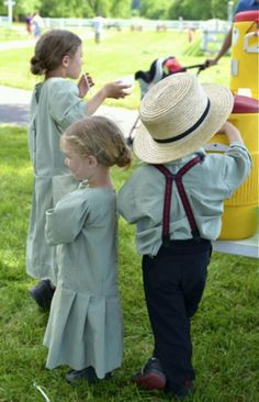 Love Amish children