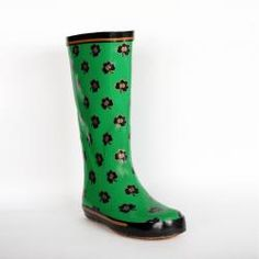 Notre Dame Fighting Irish Women's Shamrock Rain Boots