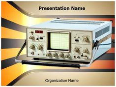 Cathode Ray Oscilloscope Powerpoint Template is one of the best PowerPoint templates by EditableTemplates.com. #EditableTemplates #PowerPoint #Spectrum #Electric #Telecommunications Equipment #Cathode-Ray #Sign #Analysis #Lab #Electronics #Metrology #Repair #Oscilloscope #Electrical Impulse  #Analyzing #Dials  #Computer #Ac #Element #Wave #Cathode #Tube #Measurement #Retro #Retro Revival #Industrial Equipment #Cathode Ray Tube