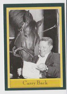 Carry Back. 1961 Kentucky Derby winner. Jockey: John Sellers. Winning time: 2:04:00